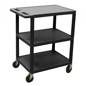 Small 3 Shelf Medical Utility Cart - HE34