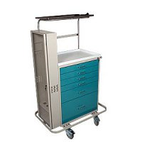 6 Drawer Specialty Medical Anesthesia Cart - Difficult Airway Package