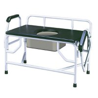 Bariatric Commode - Extra Large with Drop Arm