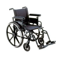 Viper Plus GT Wheelchair with Desk Arms and Swing-Away Footrest