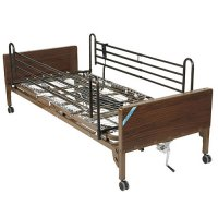 Semi Electric Ultra Light Plus Hospital Bed with Full Rails