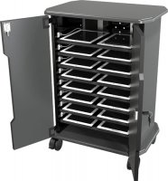 Economy iPad Tablet Charging Locking Security Storage Cart - 16 slots