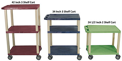 MRI Room Supply Carts