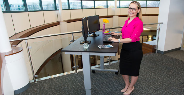 Stand Up Work Desks